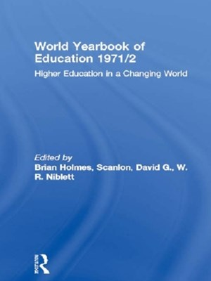 World Yearbook of Education 1971/2