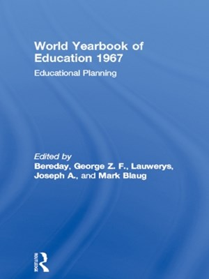 World Yearbook of Education 1967