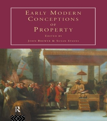 (ebook) Early Modern Conceptions of Property