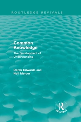 Common Knowledge (Routledge Revivals)