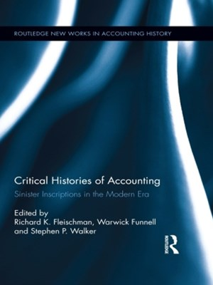 (ebook) Critical Histories of Accounting