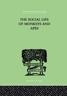 (ebook) Social Life Of Monkeys And Apes - Reference Medicine