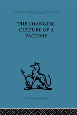 (ebook) The Changing Culture of a Factory