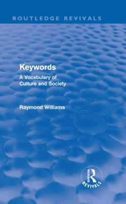 Keywords (Routledge Revivals)