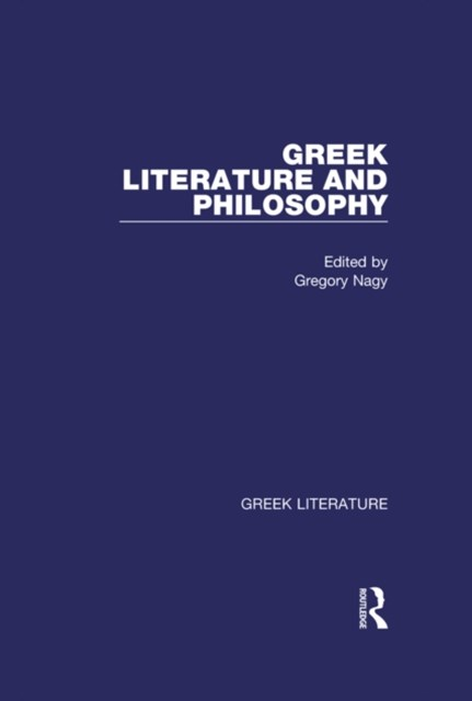 Greek Literature and Philosophy