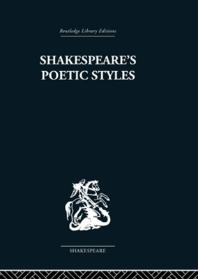 (ebook) Shakespeare's Poetic Styles