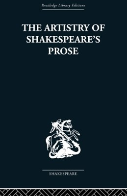 (ebook) The Artistry of Shakespeare's Prose
