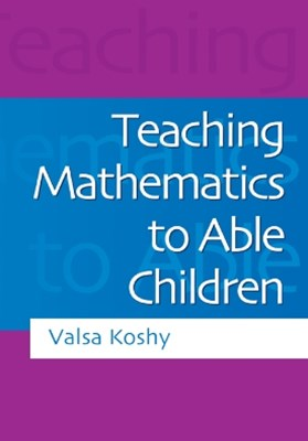 (ebook) Teaching Mathematics to Able Children
