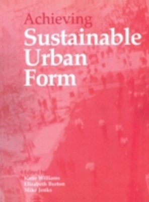 (ebook) Achieving Sustainable Urban Form