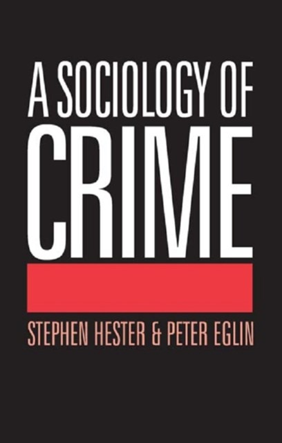 Sociology of Crime