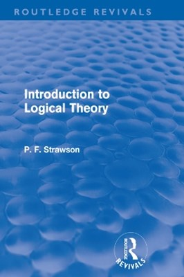 (ebook) Introduction to Logical Theory (Routledge Revivals)