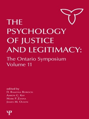 Psychology of Justice and Legitimacy