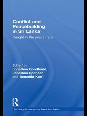 (ebook) Conflict and Peacebuilding in Sri Lanka