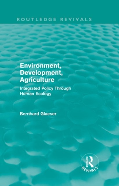 (ebook) Environment, Development, Agriculture