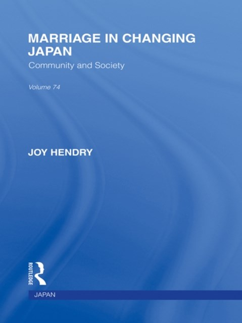 (ebook) Marriage in Changing Japan