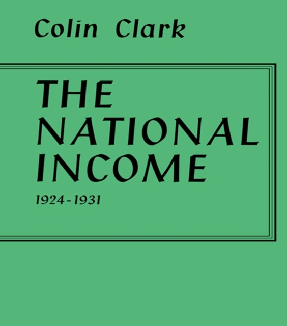 National Income 1924-1931