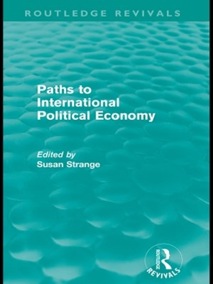 (ebook) Paths to International Political Economy (Routledge Revivals)