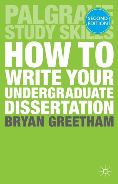 (ebook) How to Write Your Undergraduate Dissertation