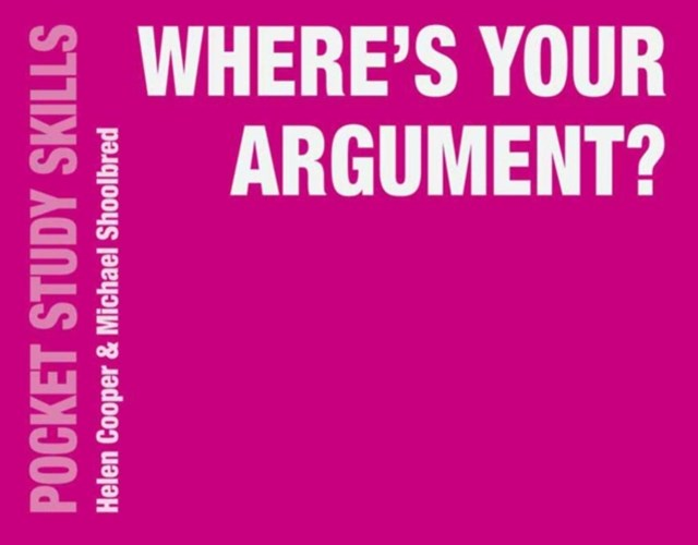 (ebook) Where's Your Argument?