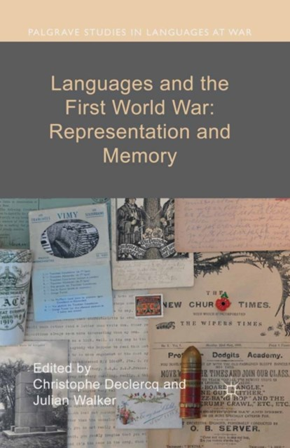 (ebook) Languages and the First World War: Representation and Memory