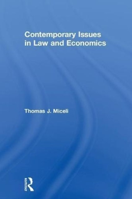 Contemporary Issues in Law and Economics