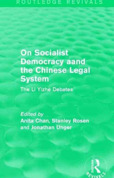 On Socialist Democracy and the Chinese Legal System