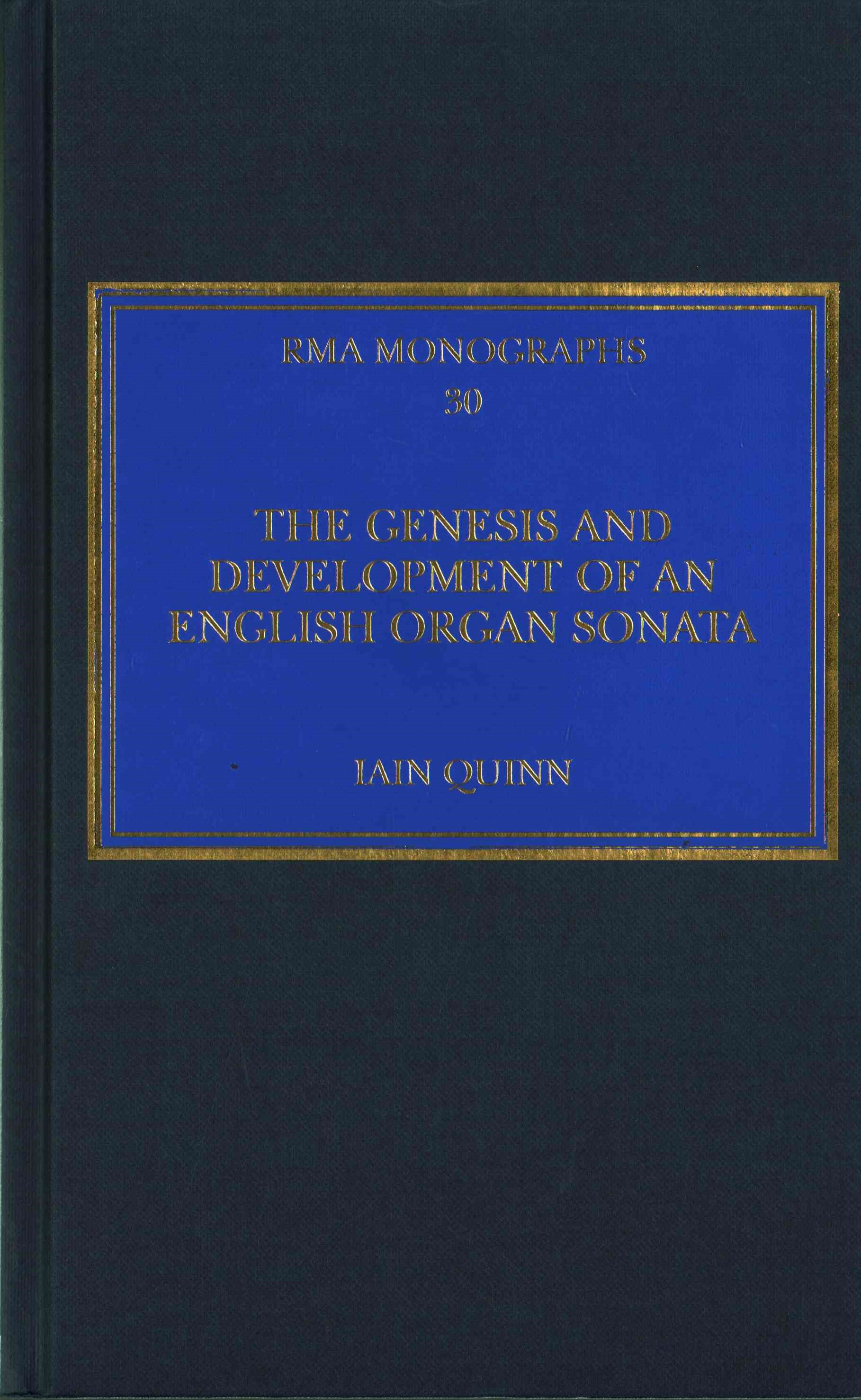 Genesis and Development of an English Organ Sonata