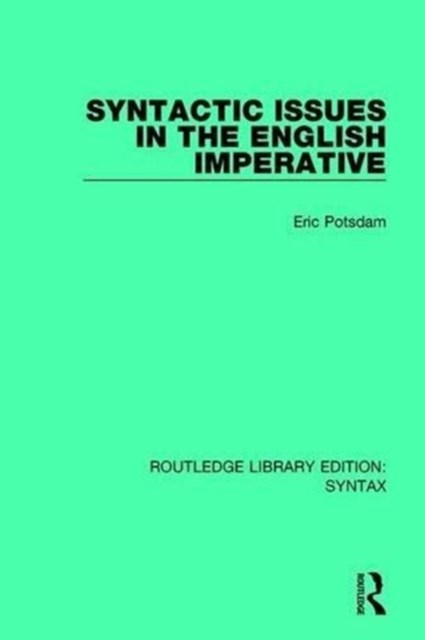 Syntactic Issues in the English Imperative