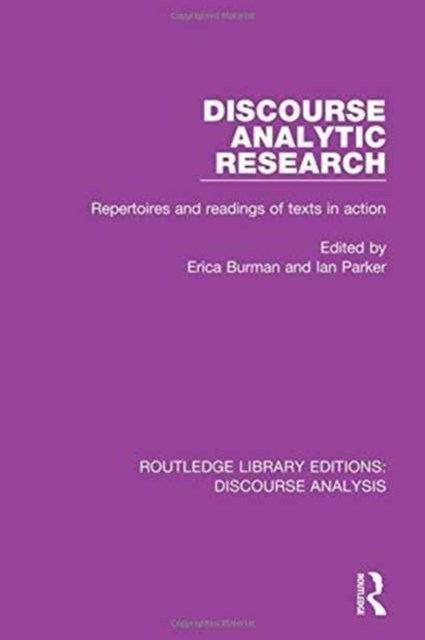 Discourse Analytic Research