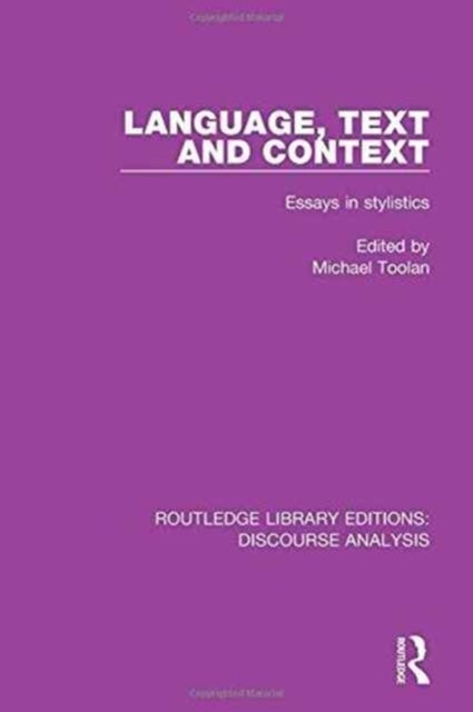 Language, Text and Context