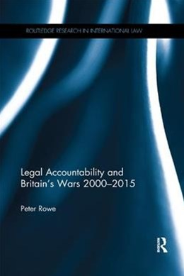 Legal Accountability and Britain's Wars 2000-2015