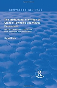 The Institutional Transition of China