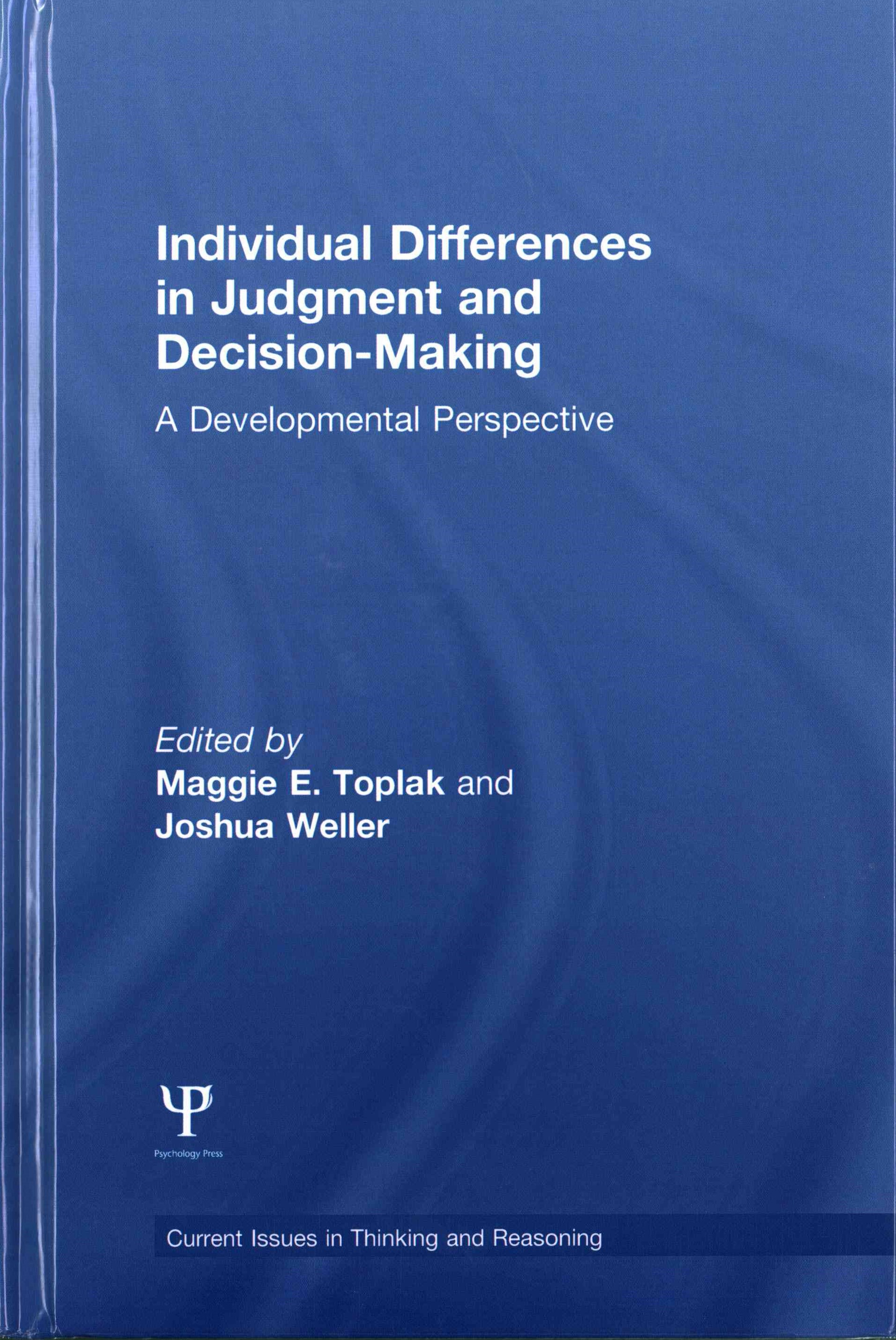 Individual Differences in Judgement and Decision-Making