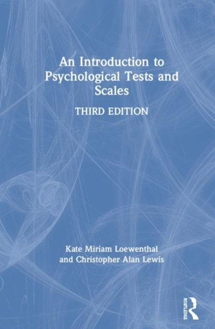 Introduction to Psychological Tests and Scales