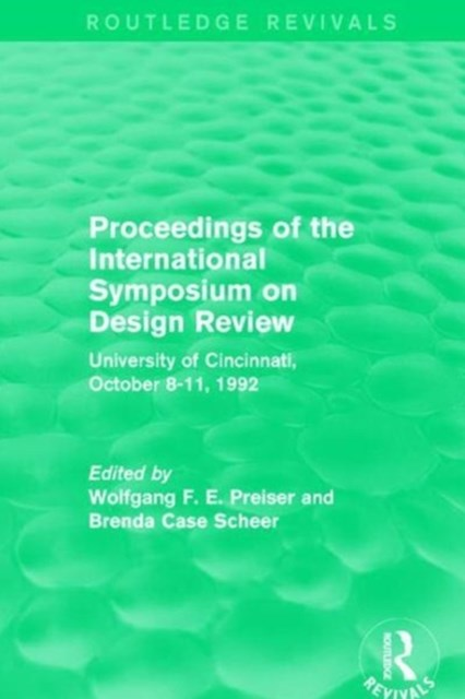 Proceedings of the International Symposium on Design Review