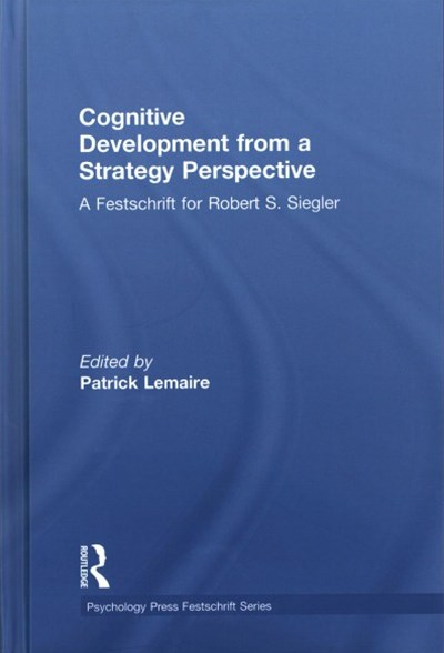 Cognitive Development from a Strategy Perspective