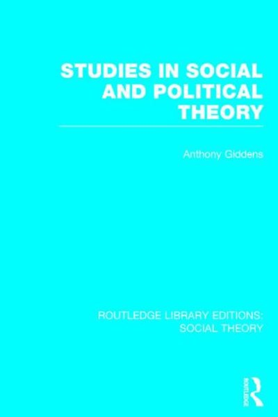 Studies in Social and Political Theory