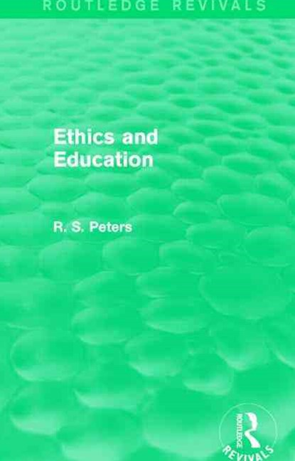 Ethics and Education (REV)