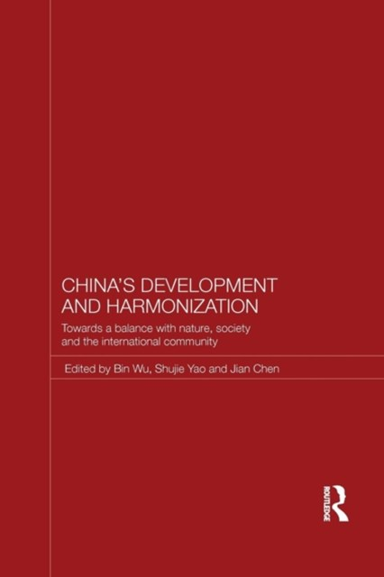 China's Development and Harmonization