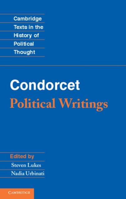 (ebook) Condorcet: Political Writings
