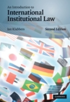 (ebook) Introduction to International Institutional Law
