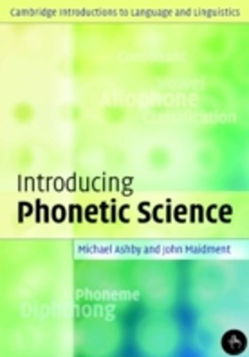 (ebook) Introducing Phonetic Science