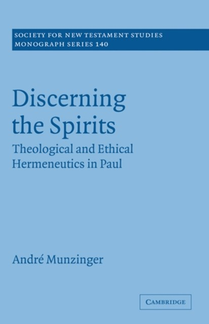 (ebook) Discerning the Spirits
