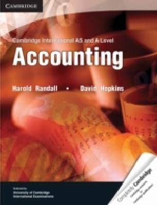 Cambridge International AS and A Level Accounting eBook