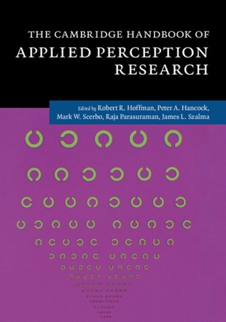 Cambridge Handbook of Applied Perception Research