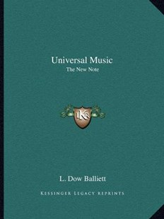 Universal Music by L Dow Balliett (9781162596303) - PaperBack - Modern & Contemporary Fiction Literature