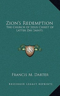 Zion's Redemption by Francis M Darter (9781163359372) - HardCover - Modern & Contemporary Fiction Literature