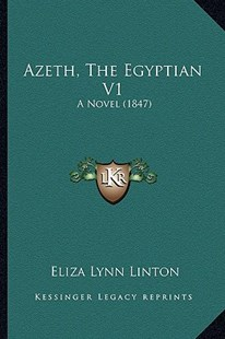 Azeth, the Egyptian V1 by Elizabeth Lynn Linton (9781164583271) - PaperBack - Modern & Contemporary Fiction Literature