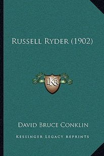 Russell Ryder (1902) by David Bruce Conklin (9781164924036) - PaperBack - Reference Law