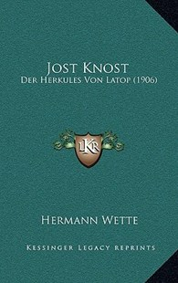 Jost Knost by Hermann Wette (9781166192822) - PaperBack - Modern & Contemporary Fiction Literature